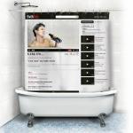 купить Шторка для ванной YouTube цена, отзывы