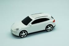 купить Колонка - Машинка Porsche Cayenne (колонка, плеер mp3, радио) Белая цена, отзывы