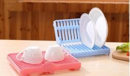 купить Сушилка для посуды складная цена, отзывы