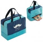 купить Дорожная сумка с отделением для обуви Bonjour Blue цена, отзывы
