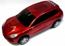 купить Колонка - Машинка Porsche Cayenne (колонка, плеер mp3, радио) красная цена, отзывы