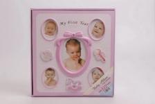 купить Фотоальбом для новорожденной девочки цена, отзывы