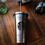 купить Стакан с крышкой и трубочкой Starbucks Reserve (Серебро) цена, отзывы