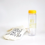 купить Бутылка My bottle желтая цена, отзывы