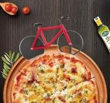 купить Нож для пиццы Велосипед красный цена, отзывы
