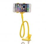 купить Подставка для телефона с вращающейся 360 желтая цена, отзывы