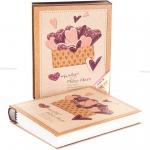 купить Фотоальбом От всего сердца burgundy цена, отзывы