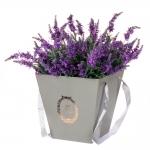 купить Коробка для цветов Best Grey цена, отзывы