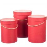 купить Комплект коробок для цветов Good Red (3 шт.) цена, отзывы