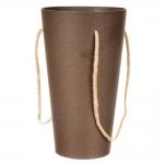 купить Коробка для цветов Vase brown цена, отзывы