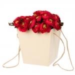 купить Коробка для цветов Tinki Cream цена, отзывы