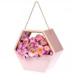 купить Коробка для цветов Always Pink цена, отзывы