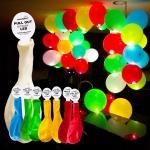 купить Набор светящихся воздушных шариков цена, отзывы