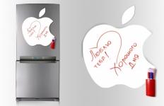 купить Магнитная доска для маркера Apple 40*43см.  цена, отзывы