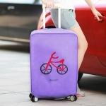 купить Чехол на чемодан Violet цена, отзывы