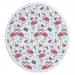 купить Пляжный коврик Summer Flamingo цена, отзывы