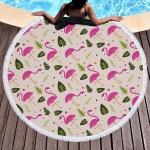 купить Пляжный Коврик Фламинго и Листья цена, отзывы