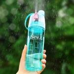 купить Спортивная бутылка для воды с распылителем New B blue цена, отзывы