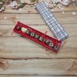 купить Шоколадные буквы I Love You цена, отзывы