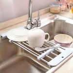 купить Раздвижная сушка на мойку для посуды цена, отзывы