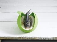купить Силиконовый конверт для запекания рыбы,мяса цена, отзывы