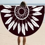 купить Пляжный коврик Перья цена, отзывы