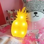 купить Светильник ночник 3D Ананас цена, отзывы