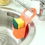 купить Подвесной органайзер для кухонных принадлежностей оранжевый цена, отзывы