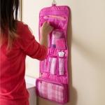 купить Органайзер подвесной дорожный pink цена, отзывы