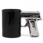 купить Чашка Пистолет с серебряной ручкой цена, отзывы