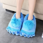 купить Тапочки ноги первобытного человека blue  цена, отзывы