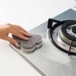 купить Губка для мытья посуды серая Облако цена, отзывы