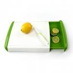 купить Кухонная доска для нарезки с двумя контейнерами Big Green цена, отзывы