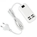 купить 4-портовый USB разветвитель 15W USB Desktop Charger цена, отзывы
