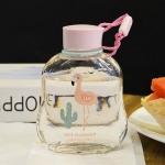 купить Бутылка для воды Фламинго цена, отзывы