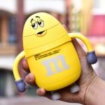 купить Термос детский с трубочкой M&Ms (Желтый) цена, отзывы