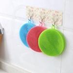 купить Губка силиконовая для мытья посуды цена, отзывы