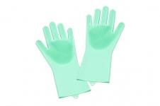 купить Силиконовые перчатки для мойки посуды цена, отзывы