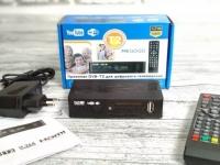 купить Тюнер T2 приставка с просмотром YouTube IPTV WiFi HDMI USB MEGOGO цена, отзывы