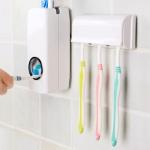 купить Дозатор зубной пасты с держателем для щеток цена, отзывы