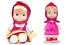 купить Кукла Маша Повторюшка Фиолетовая 21см цена, отзывы