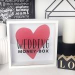 купить Деревянная копилка для денег Wedding money-box цена, отзывы