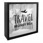 купить Деревянная копилка для денег Travel money box (самолет) цена, отзывы