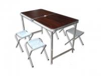 купить Складной стол для пикника со стульями цена, отзывы