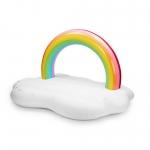 купить Надувная платформа-матрас облако Радуга 245см цена, отзывы