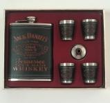 купить Подарочный набор фляга со стопками Jack Daniels black-red цена, отзывы