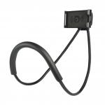 купить Держатель универсальный на шею для телефона Phone Holder Black цена, отзывы