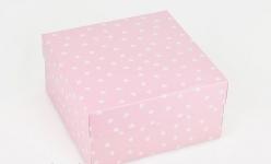купить Подарочная коробка Розовое Сердце 20х20х10 см цена, отзывы