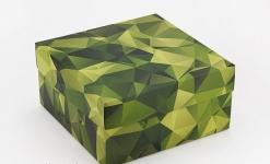 купить Подарочная коробка Камуфляж 20х20х10 см цена, отзывы