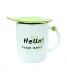 купить Чашка керамическая Листик Helo! Green Leaves цена, отзывы